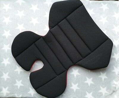 High Back Booster Seat Pad Support Black Red Harmony Venture - Potty Training