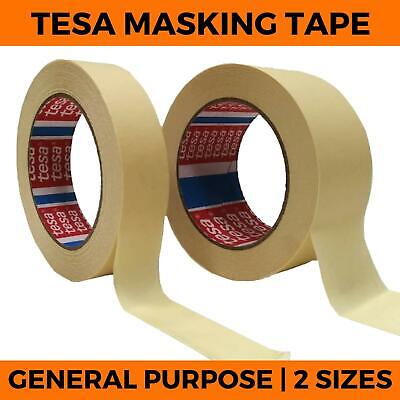 Masking Tape - Tesa General DIY Painting Decorating Indoor Out Crepped 25 50
