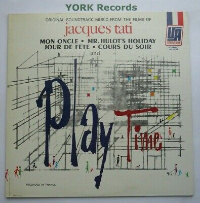 JACQUES TATI - Play Time - Music From His Films - Ex LP Record UA International