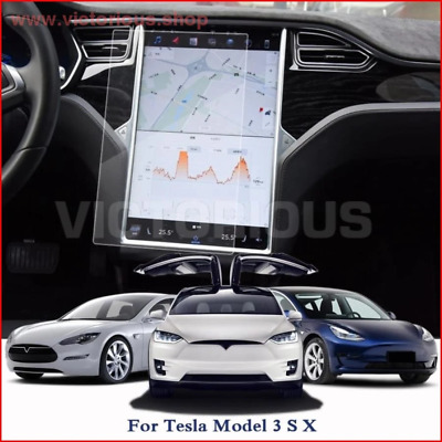 Car Styling Car Dashboard Paint Protective TPU Film For Tesla Model 3 S X GPS Sc