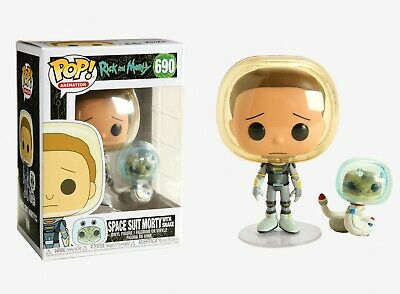 Funko Pop Animation: Rick and Morty - Space Suit Morty with Snake Vinyl #45435