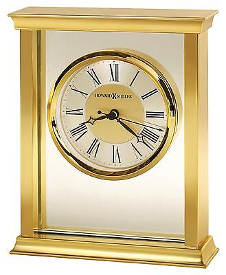 645-754 Monticello, A Brass Finished Howard Miller Bracket/ Mantle Clock