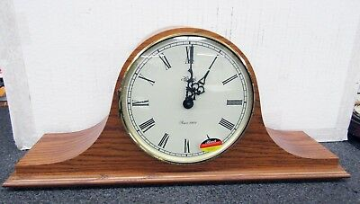 Hermle Mantle Clock -Large Tambour Style With German Dual Chime Movement
