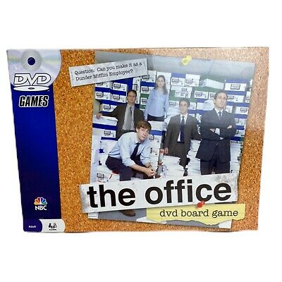 The Office NBC DVD Trivia Board Game Pressman 2008 2-6 Players Brand New Sealed