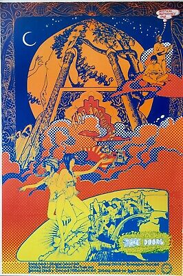 Incredible String Band The Doors, Vintage Repro Psychedelic Poster