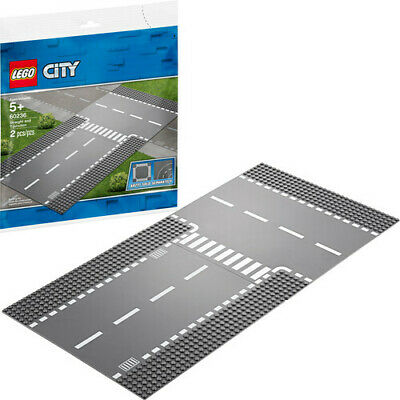 LEGO® City - Straight and T-junction 60236 [New Toy] Toy, Brick