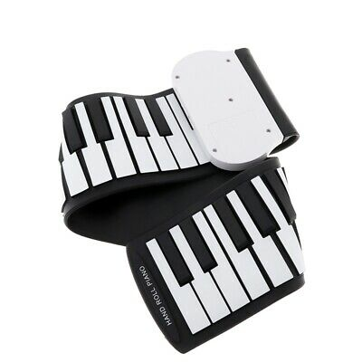 37 Keys Silicon Flexible Hand Roll Up Piano Soft Portable Electronic Keyboar 1A8