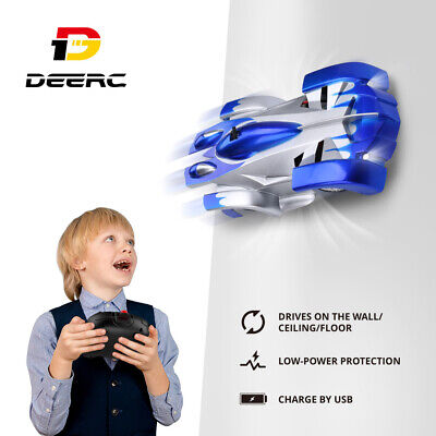 Gravity Defying RC Cars Wall Climbing Remote Control Anti Ceiling Racing Toys