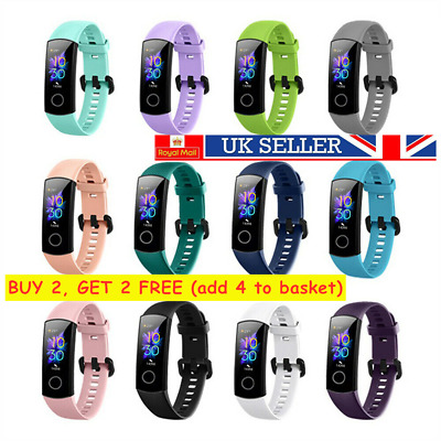 Colorful Watch Band Replacement Strap For Huawei Honor Band 5 4 Silicone