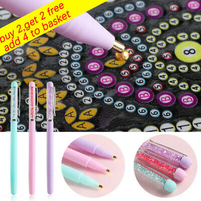 Crystal 5D Diamond Painting Point Drill Pen Cross Stitch Sewing Accessories DIY