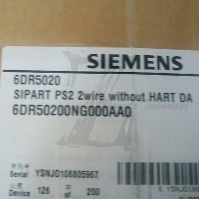 New Siemens Electropneumatic Positioner Linear Pneumatic,6DR5020-0NG00-0AA0
