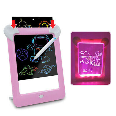 Magic Toy Pad Kids Toy Light Up LED Board Drawing Tablet Art Kids Christmas Hot