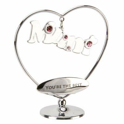 "Mum Gift - Crystocraft Swarovski Crystal Elements - ""Mum You're The Best"" SP553"