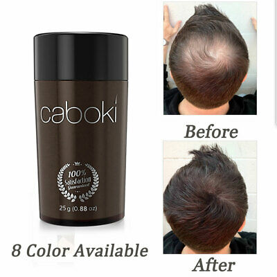 8 Color Caboki 25g Hair Fibers Keratin Hair Building/Thickening Fibers Powder