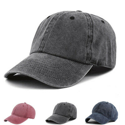 Retro Solid Color Baseball Caps Outdoor Casual Peaked Cap Wild Cotton Hats