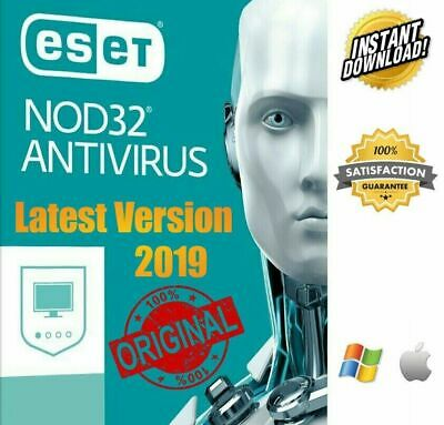 Eset NOD32 2019 🔥 1 PC 2 Years 🔑 Global Key🔑 Windows MAC Fast Delivery