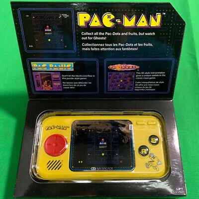My Arcade, Pac-Man, Pocket player, Portable Gaming System, 3 Games Included
