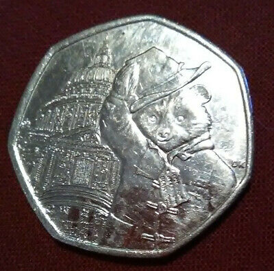 2019 Circulated Paddington Bear At St Pauls Cathedral 50P Coin Collectors
