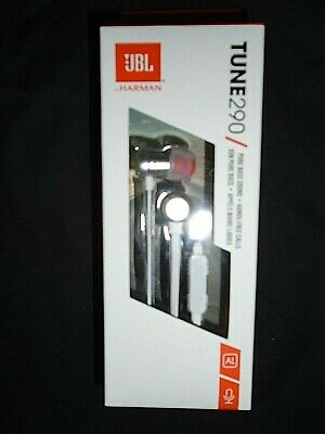 "JBL Tune 290 Headphones - Pure Bass Sound - White ""NEW"""