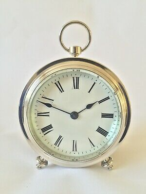 Very Rare French Fusee Clock With Dual Plane Escapement, Mantle Clock,