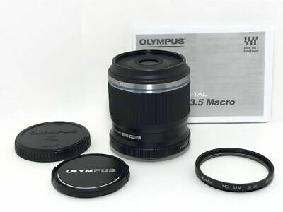 Used OLYMPUS M.ZUIKO PREMIUM ED 30mm f3.5 Macro beauty products and with pro