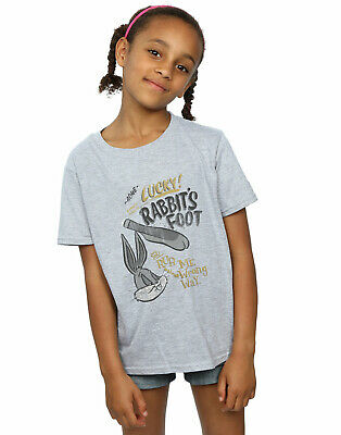 Looney Tunes Girls Bugs Bunny Rub Me The Wrong Way T-Shirt