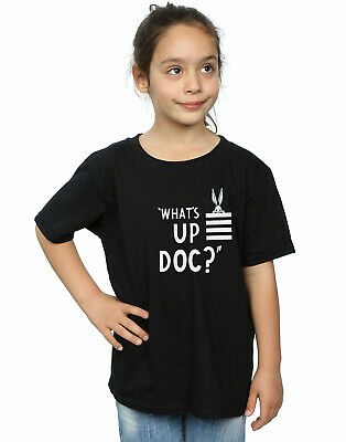 Looney Tunes Girls Bugs Bunny What's Up Doc Stripes T-Shirt