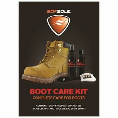Sofsole Boot Care Kit Complete Care For Boots Brand New