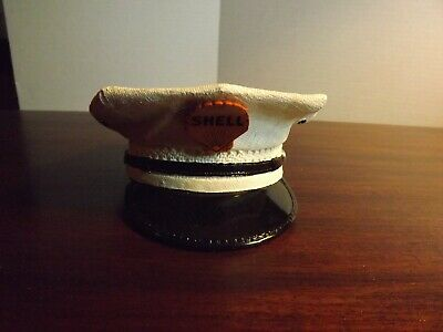 Shell Oil Attendant's Cap/hat Bank Poly Resin