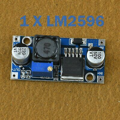 2PCS LM2596 DC-DC Adjustable Buck Converter Step Down Power Supply Module BYT