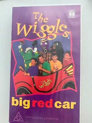 THE WIGGLES  : Big Red Car (Vhs Video Tape) PAL