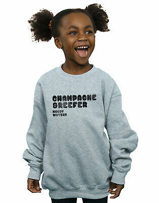 Muddy Waters Girls Champagne And Reefer Distressed Sweatshirt