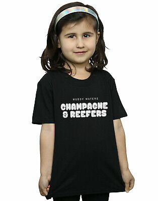 Muddy Waters Girls Champagne And Reefer Kaboom T-Shirt