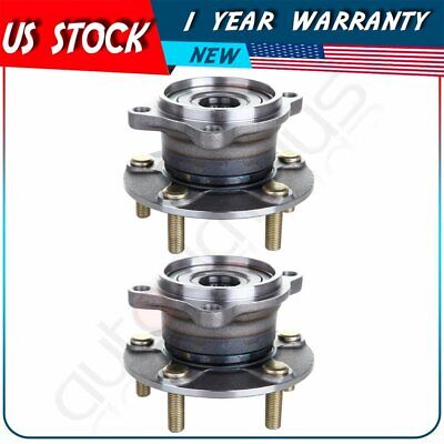 Pair of 2 Wheel Hub Bearing Assembly Rear Left//Right for Mitsubishi Endeavor AWD