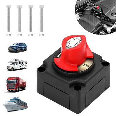 12V 300A Battery Isolator Disconnect Switch Safety for Marine Boat Car RV ATV