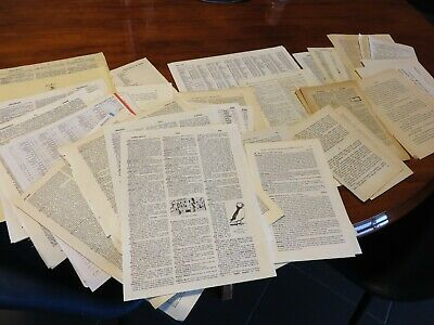 50 individual ast book pages vintage 4 altered art junk journals glue books