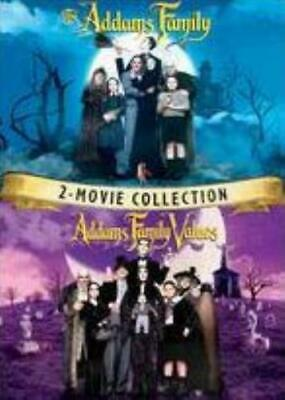 ADDAMS FAMILY / ADDAMS FAMILY VALUES 2 MOVIE CO (Region 1 DVD,US Import,sealed.)