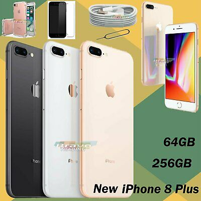 Unlocked Apple iPhone 8 Plus 64GB 256GB Sim Free New Smartphone Various Colours