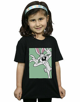 Looney Tunes Girls Bugs Bunny Funny Face T-Shirt