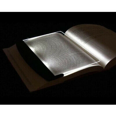 Portable LED Read Panel Light Book Reading Lamp Night Vision for Travel Unique Y
