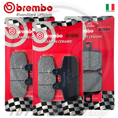 Pastiglie Freno Ant + Post Brembo Malaguti Spidermax 500 Rs 2006 2007 2008