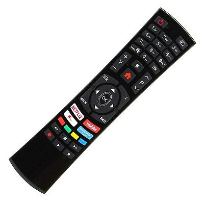 Genuine Remote Control For Bush 40 Inch Smart Full HD TV DLED40FHDS