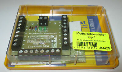 Model Railway Distributor with 26 Clamps and Status LED ´S > New/Ob
