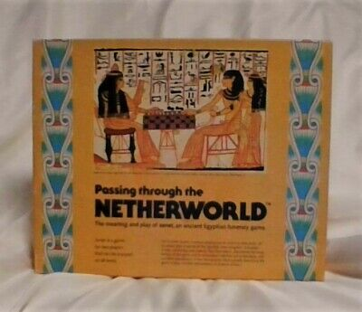 Vintage~ Ancient Egyptian Board Game~ Passing through the Netherworld~ 1978