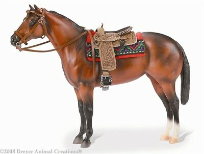 Breyer Model Horses Traditional Size Leather Like Western Show Bridle #2468
