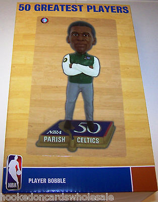 Robert Parish Boston Celtics 50 Greatest Players Legends Bobblehead Limited 1000