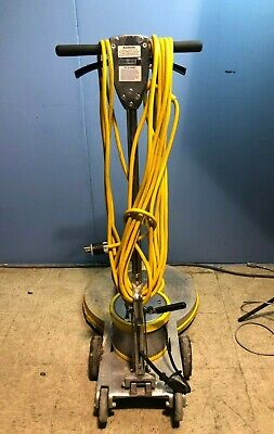Mercury Floor Machines Ultra Dc High Speed Burnisher 1500 Rpm Industrial Cleaner