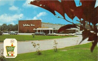 Chattanooga Tennessee 1960s Postcard Holiday Inn Southeast Motel