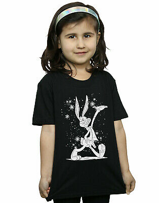 Looney Tunes Girls Bugs Bunny Let It Snow T-Shirt