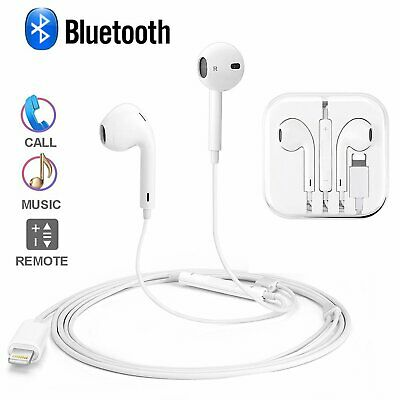 Lightning Bluetooth Earphone Headphone Headset For Apple iPhone 7 X 8 Plus XS XR